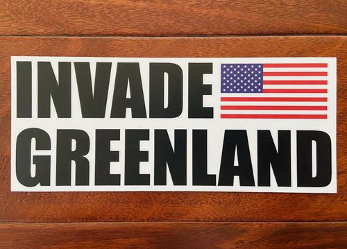invade Greenland sticker