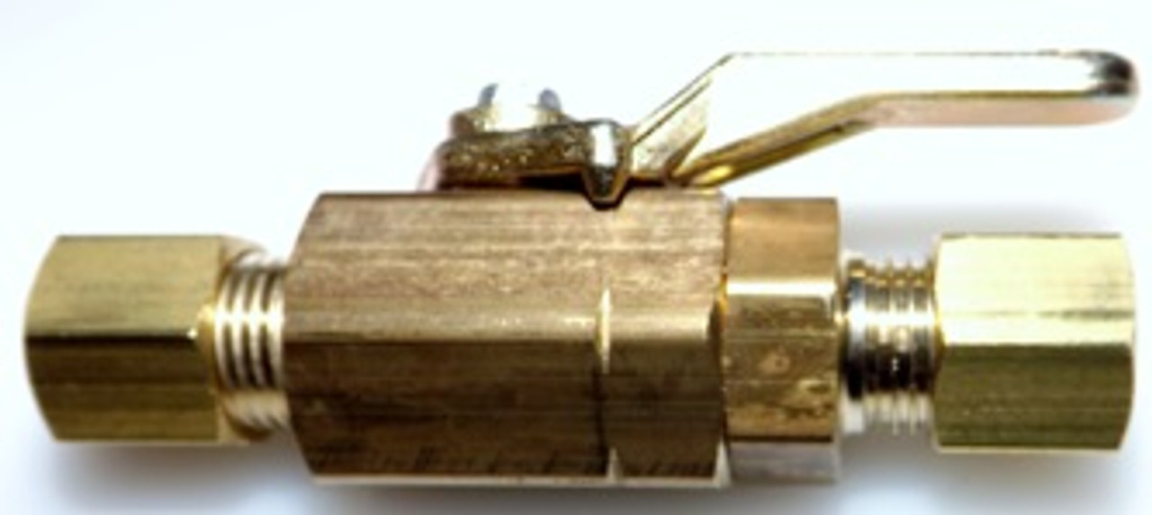 "1/4""C X 1/4""C MINI BRASS BALL VALVE"