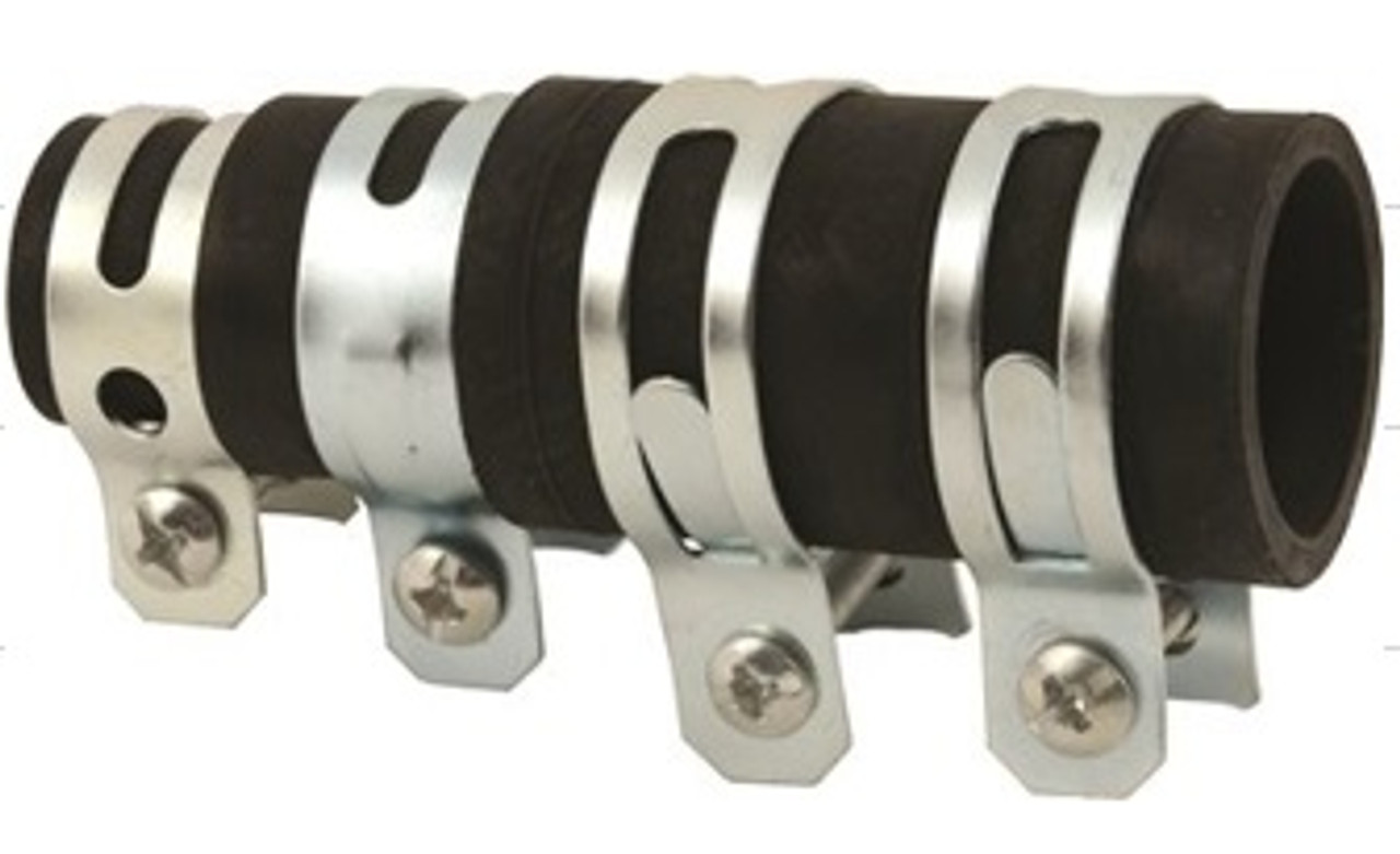 DISHWASHER/DISPOSER DRAIN ADAPTER w/4 CLAMPS