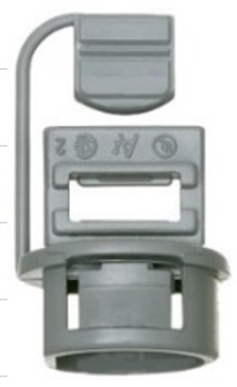 "3/8"" PLASTIC BOX CONNECTORS-10 PACK"