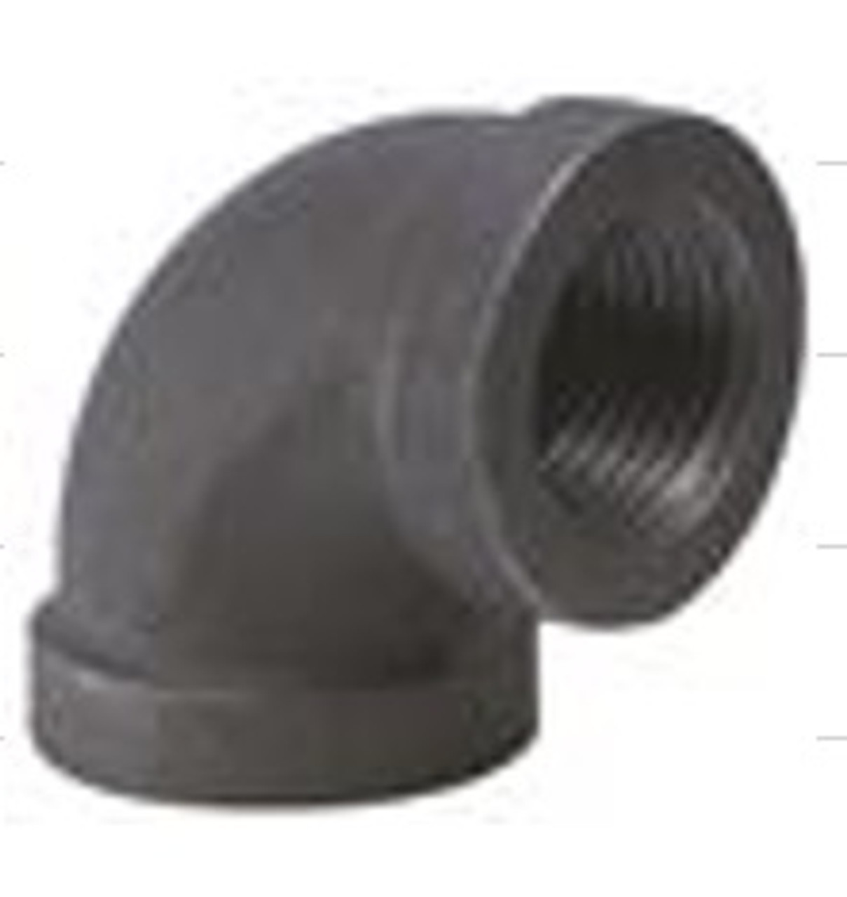 "1/2"" 90 DEGREE ELBOW - BLACK"