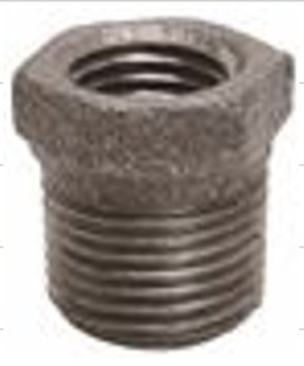 "3/4"" x 1/2"" BUSHING - BLACK"