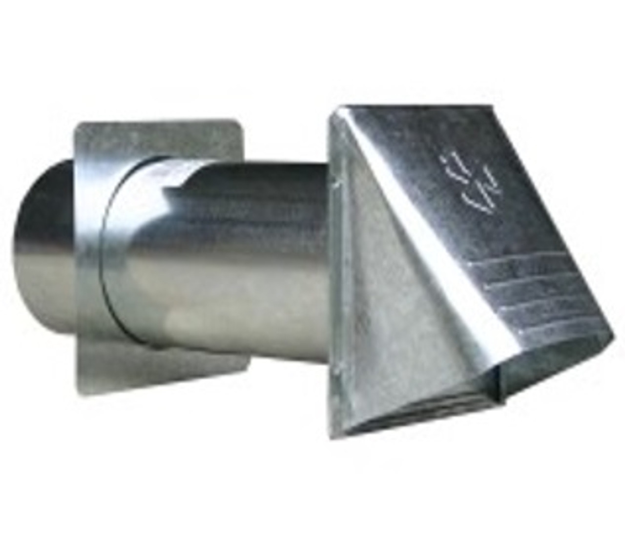 "4"" DRYER VENT HOOD-METAL"