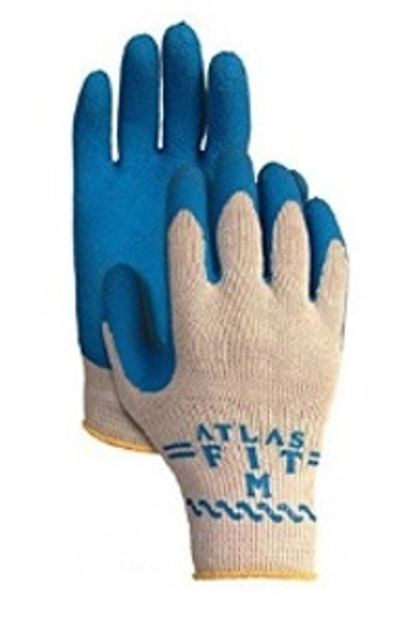 ATLAS BLUE FLEX GLOVE-MEDIUM