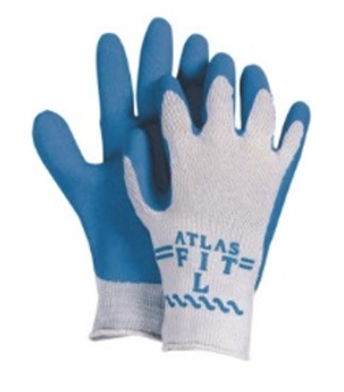 ATLAS BLUE FLEX GLOVE-LARGE
