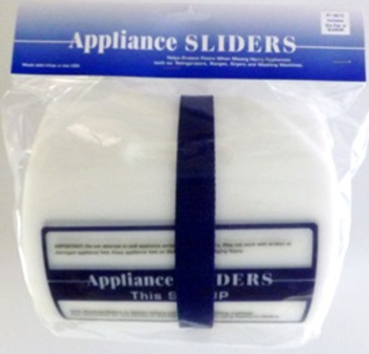 "APPLIANCE SLIDERS-2 SECTIONS 8"" x 60"""
