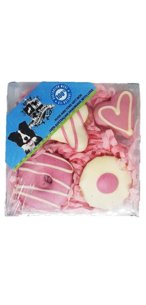 Dog Gift Box - Pink