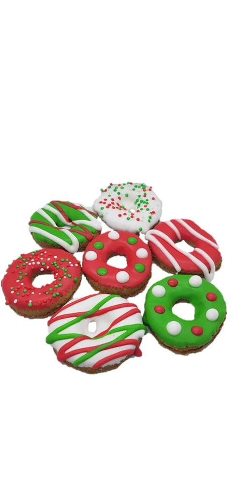 Mini Christmas Pony Donuts - Gift Box