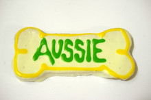 BIG AUSSIE DOG BONE - GOURMET DOG COOKIE DOG TREAT