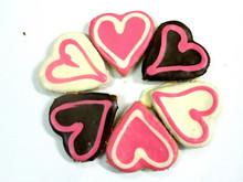 Big Doggy Love Heart Dog Cookie - 30pce Bulk Gourmet Dog Treats