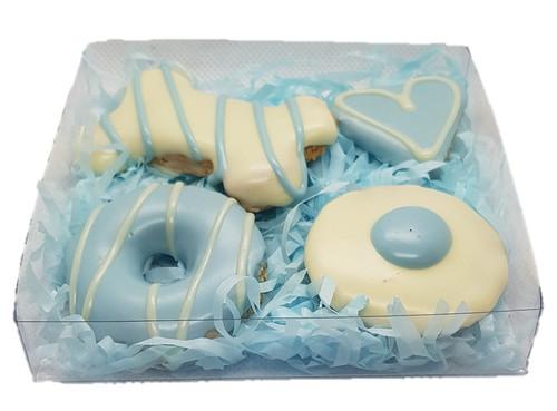Blue Gift Box - Gourmet Dog Treats