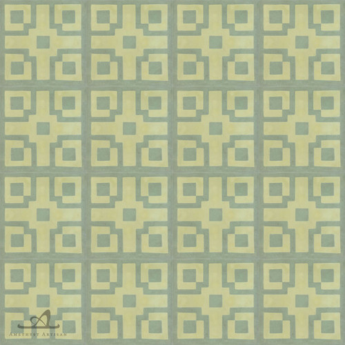 CHINOISE GREEN CEMENT TILES