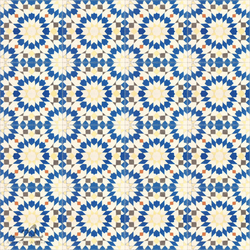ANKABOUTI BLUE CEMENT TILES