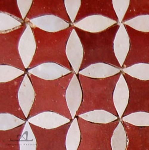 CITRUS RED MOSAIC TILES