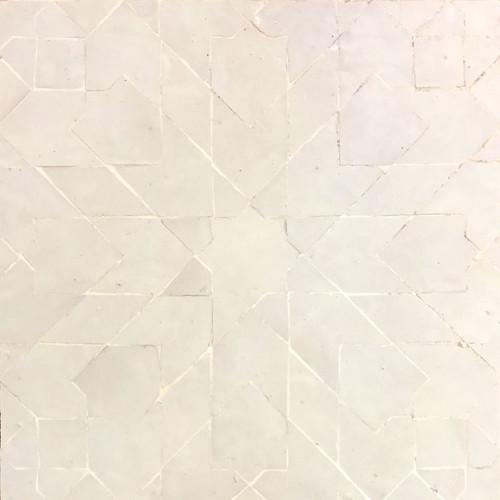 GRAND ANKABOUTI WHITE MOSAIC TILE