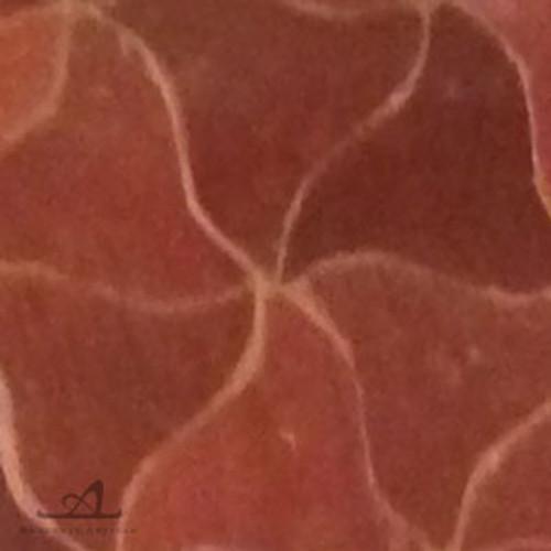 PINWHEELS RED MOSAIC TILE