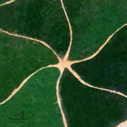 PINWHEELS GREEN MOSAIC TILE