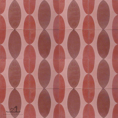 EAMES RED CEMENT TILE