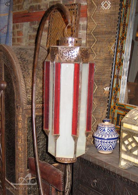 RED COLUMN PENDANT LAMP