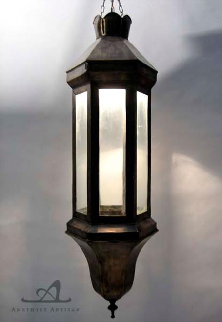 RECTANGLE CASABLANCA PENDANT LAMP