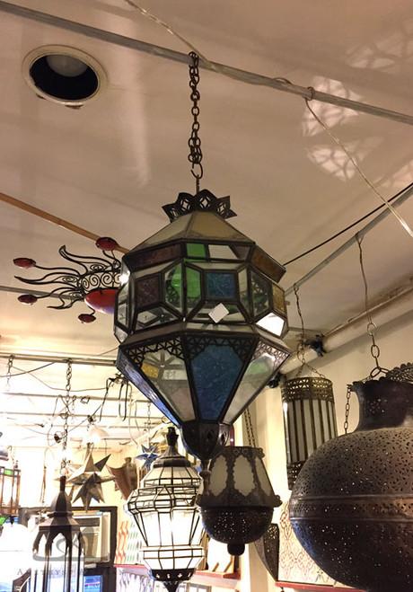 MULTI PANEL PENDANT LAMP