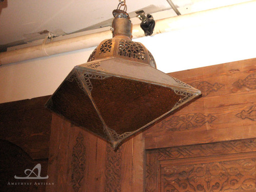 MEKNES VIOLET PENDANT LAMP