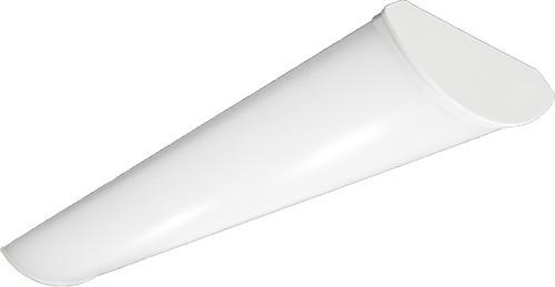 LED Wrap Around, 4ft, 40 Watt, 5200 Lumen, 4000 Kelvin, 0 10V Dimming, 120 277V Input, 82+ CRI (7 years warranty, 70,000 hrs rated life) CBW 4L(40S) 840 | Alphalite for 149.16 at Lightingandsupplies.com