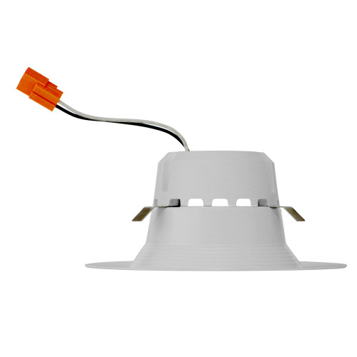 """13w LED 4"""" Recessed  3000K, 75w Equal, 800 Lumen, 61 lm/w, E26 adaptor Base, 90 CRI, Dimmable, 120V, WET Rating, 5.7"""" x 5.7"""" x 2.5"""", 5yr Warranty, 50000 Hr Life, UL, Energy Star, T24, Plastic Lens, Frosted, DLC4-1000e   Euri Lighting for 11.4 at Lightingandsupplies.com"""