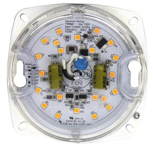 10.4w LED Ceiling Flush Mount Retrofit, 60W Incandescent Equal, 800 lumens, 120v, 77 lm/w, Energy Star, JA8-2016-E, 5yr Warranty, FRK10X3-930/V2 | Maxlite