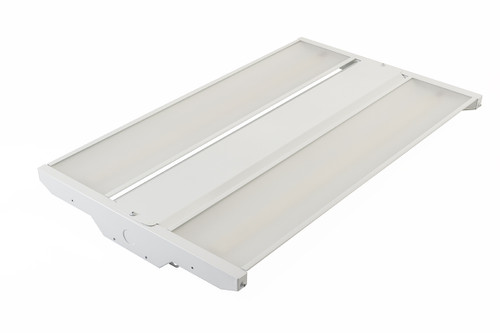 215W, 2' LED Highbay, 5000K, 28160 lumens, Frosted Lens, 120-277, 5000K, KT-HBLED215-2F-850-VDIM-P | Keystone Tech for 339.9 at Lightingandsupplies.com
