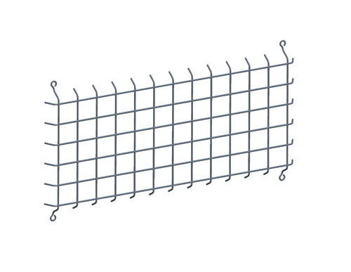 Wire Guard Fxled78 105 125 150 Guard w/ Ss Screws