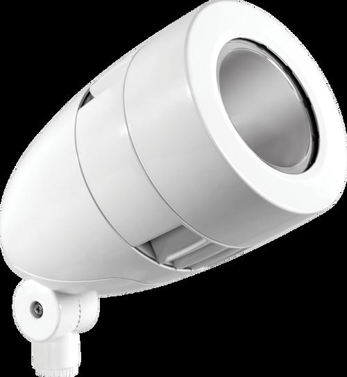 Lflood 26W Warm LED 480V w/ Spot Reflector Hbled White