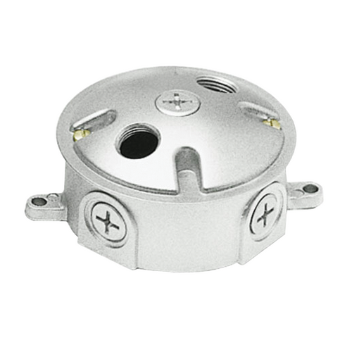 RAB Lighting LRT3 Weatherproof Box 3 Rd 1/2 Tap and Cover With Three 1/2 Holes, LRT3 or RAB