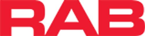 RAB Lighting RPA6W-ALED360 Round Pole Adaptor 6 Rd Pole w/ Gasket Aled 260W 360W Wh, RPA6W-ALED360 or RAB