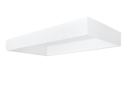 RAB Lighting SMKPANEL2X4 Lpanel 2X4 Surface Mounting Kit White, SMKPANEL2X4 or RAB