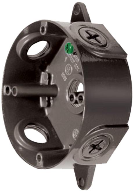 RAB Lighting VXCVG-3/4 Weatherproof Round Box 3/4 Verde Green No Cover, VXCVG-3/4 or RAB