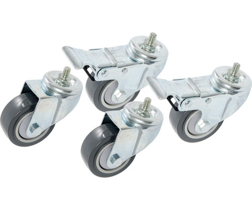 Hydrofarm VGS100 Casters for VGS300 and VGS600 Vertical Grow Shelf Systems, pack of 4 VGS100 or Active Aqua