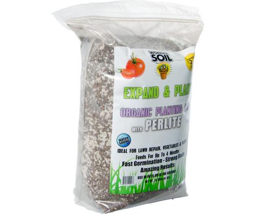 Hydrofarm WS20070 Wonder Soil Expand and Plant Organic Coir Granules with Perlite, 10 lbs WS20070 or Wonder Soil