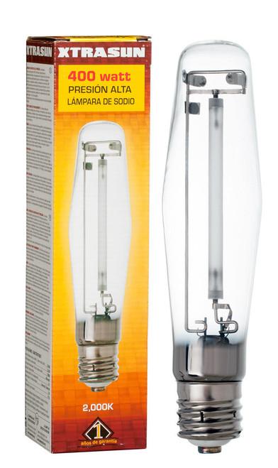 Hydrofarm XTB1030 Xtrasun High Pressure Sodium HPS Lamp, 400W, 2000K XTB1030 or Xtrasun