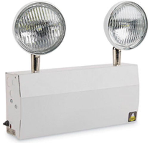 Big Beam Emergency Lighting L2ET6S5W Steel Commercial Grade Emergency Lighting L2ET6S5W 1.5W LED - New York Approved - 12W Capacity or L2ET6S5W or BIGBEAM