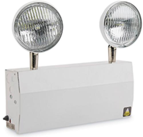 Big Beam Emergency Lighting L2ET6S8W Steel Commercial Grade Emergency Lighting L2ET6S8W 1.5W LED - New York Approved - 18W Capacity or L2ET6S8W or BIGBEAM