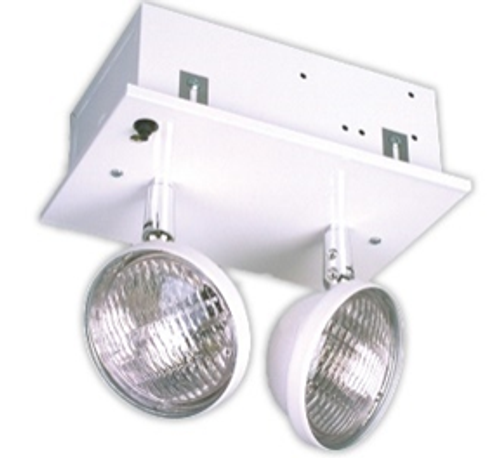 Big Beam Emergency Lighting 2RL6S5-R RECESSED EMERGENCY LIGHTS 2RL6S5-R 6W INCANDESCENT HEADS, CHICAGO APPROVED, 12W CAPACITY or 2RL6S5-R or BIGBEAM