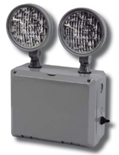 Big Beam Emergency Lighting 2WL-L-N WET LISTED EMERGENCY LIGHTS 2WL-L-N 1.9W LED HEADS, 9.6V, WET LISTED, NICAD or 2WL-L-N or BIGBEAM