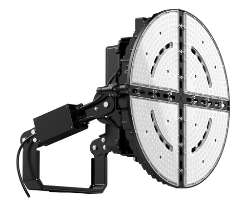 Westgate SFX-G5-1000W-30D-50K LED STADIUM FLOOD lights Die-cast aluminum with powder coat finish 70,000 hours or SFX-G5-1000W-30D-50K or Options Available or Westgate