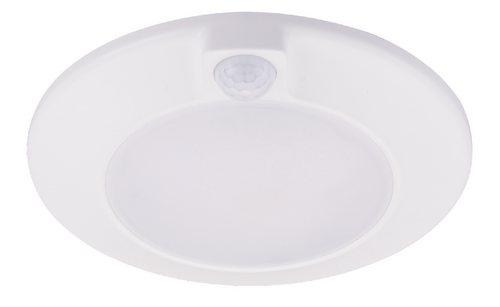 Westgate DLSN5-30K-PIR LED 5 DISK LIGHT WITH PIR SENSOR, 120V, 10W, 650LM, 30K Spun Steel powder Coated - or DLSN5-30K-PIR or Options Available or Westgate