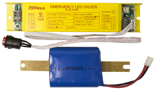 Westgate ELB-1248 LED EMERGENCY 2PC BACKUP SYSTEM , 12W , 48V , DC , 90MIN or ELB-1248 or Options Available or Westgate
