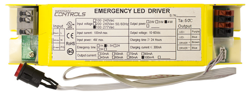 Westgate ELB-0460-FM 4W INTEGRATED MINI LED EMERGENCY BACK UP or ELB-0460-FM or Options Available or Westgate