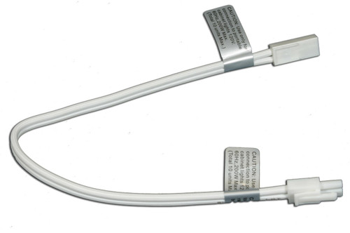 American Lighting ALLVPEX12WH-B ALLVPEX12WH B 12 EXT WIRE FOR 120V PUCK LIGHTS, WHITE WIRE,BULK PACK WHITE BOX or 714176311432 or 12 Linking Cables or American Lighting