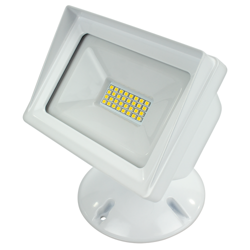 ALV3 WF WH LED FLOOD,120V,3000K,24W,cULus,White FINISH,2200 LM, >80 CRI,3 YR WARRANTY;   714176018546   Available in three styles and two finishes, Up to 4000 lumen output consuming up to 48W, cULus Listed, IP65 (wet location)  American Lighting