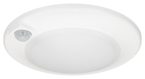 American Lighting QD6PIR-30-WH QD6PIR 30 WH 6 15W PIR Sensor Closet Lite or 714176022055 or 3000K color temperature with 90 CRI, 4 and 6 trim sizes with up to 1050 lumens, ENERGY STAR rated and JA8 Compliantor American Lighting